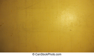 Wall old yellow