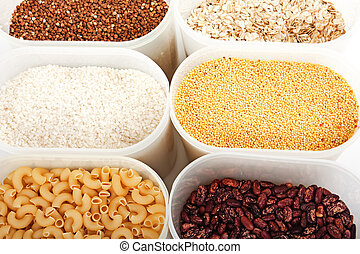 Cereals - Healthy eating plant cereals seed food ingredient