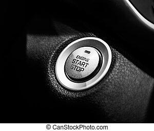 comienzo, botón