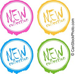 New collection stamp