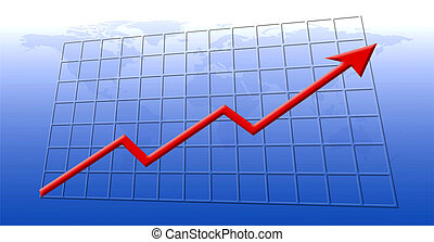 Financial growth - Chart showing financial growth, with the...
