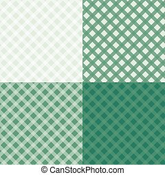 Diagonal tablecloth seamless wallpaper pattern set 4 in 1
