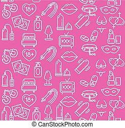 Intim or Sex Shop Background Vector - Intim or Sex Shop...