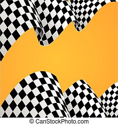 Racing Background. Vector