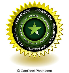 eco assured gold icon