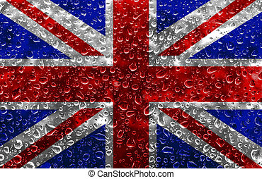 The Union Jack - An illustration of The Union Jack Flag with...