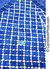 abstratos, azul, colorated, pavimento, fundo, texture, ,