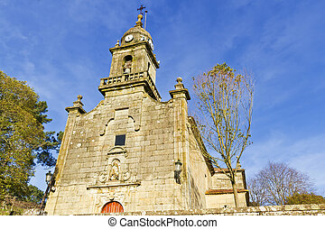 Parish Church of Arbo - Facade of Arbo parish Church