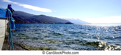 Lake Ohrid, macedonia - Picture of a Lake Ohrid, Macedonia