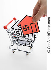 Buying home, Real Estate concept