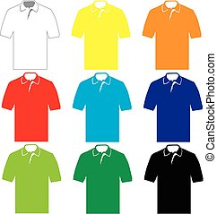 Polo Shirt - set of colorful Polo shirt?s for men