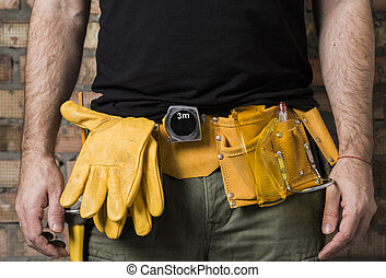 carpenter tool belt