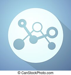 nice science icon - Creative design of nice science icon