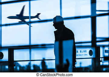 passenger at the airport