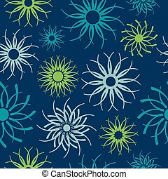 Pinwheel Pattern - Abstract seamless pattern of unique...