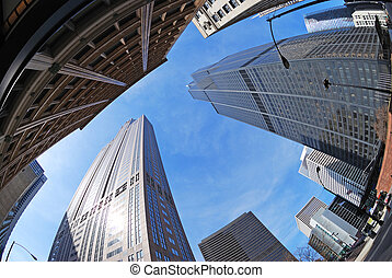 willis tower - cityscape of downtown chicago