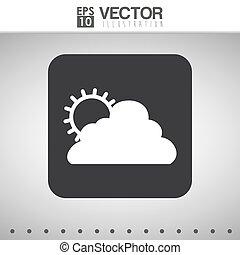 wheater icon design - icon concept with wheater icon design,...