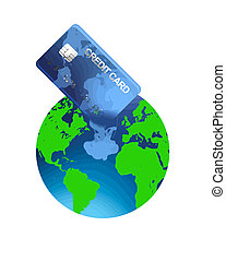 world credit vector