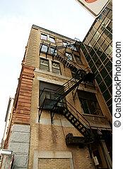 Urban fire escape