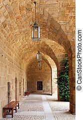 Sidon's old Khan - Khan Saida