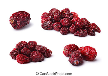 Dried cranberry (bearberry) set - Set of Dried cultivated...