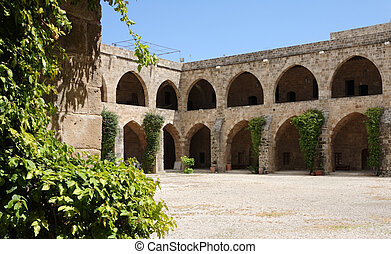 Sidon's old Khan Arches