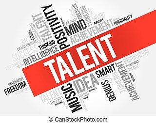 Talent word cloud