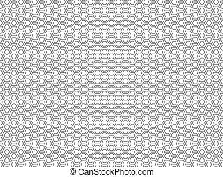 Honeycomb seamless pattern 3 - Honeycomb seamless pattern....