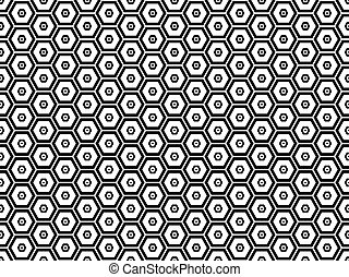 Honeycomb seamless pattern 4 - Honeycomb seamless pattern....