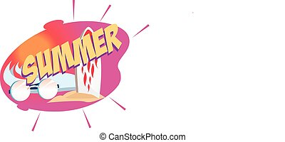 Vector illustration of a Special Summer Offer