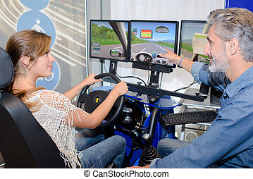 driving simulator