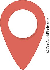 Map a contact card for the color of the label location