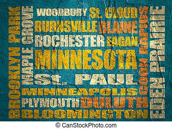 Minnesota state cities list - Minnesota main places and...