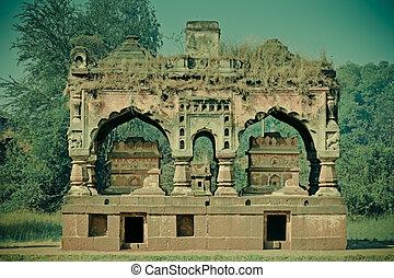 panchaganga ghat-shiv mandir, Kolhapur, Maharashtra, India -...