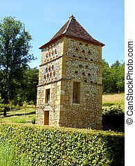 Pigeonnier in Dordogne, France - Stone built pigeonnier or...