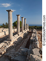 Cyprus Greece antic ruin