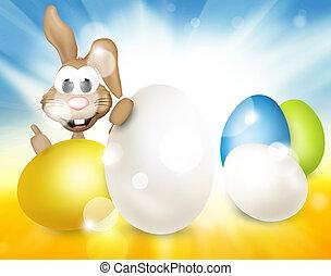 festive easter eggs design
