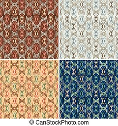 Abstract Scroll Pattern