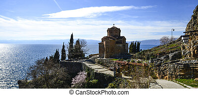 Lake Ohrid, macedonia - Picture o0f a Lake Ohrid, macedonia