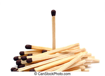 different concept with matches