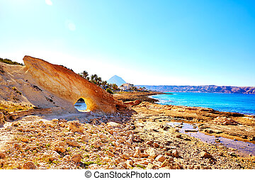 Javea Xabia Cala Blanca beach in Alicante Spain - Javea...