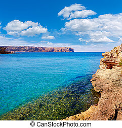 javea Xabia and San Antonio Cape in Alicante of...