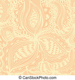 Wallpaper seamless pattern with abstract floral element for...
