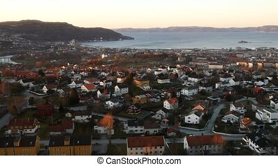 View of Trondheim, Norway