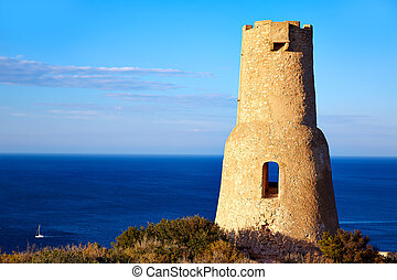 Denia Torre del Gerro tower in Las Rotas Spain - Denia Torre...