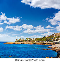 Denia Las Rotas Punta Negra beach in Alicante - Denia Las...