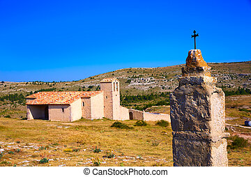 Corratxar church in Tinenca Benifassa of Spain - Corratxar...