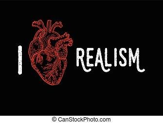 Vintage engraved human heart. Vector illustartion. Design...