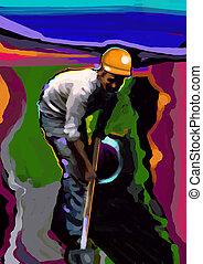 Shovel - Manual worker