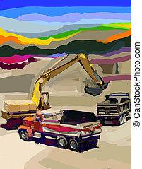 Loading - Sand loaders